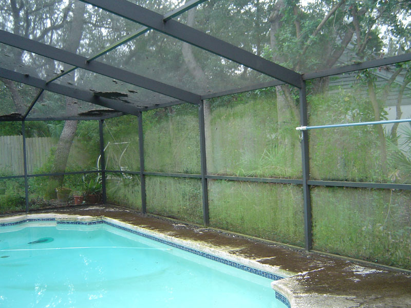 San Diego-San Diego County Pool Screen Enclosures & Screen Repair Services