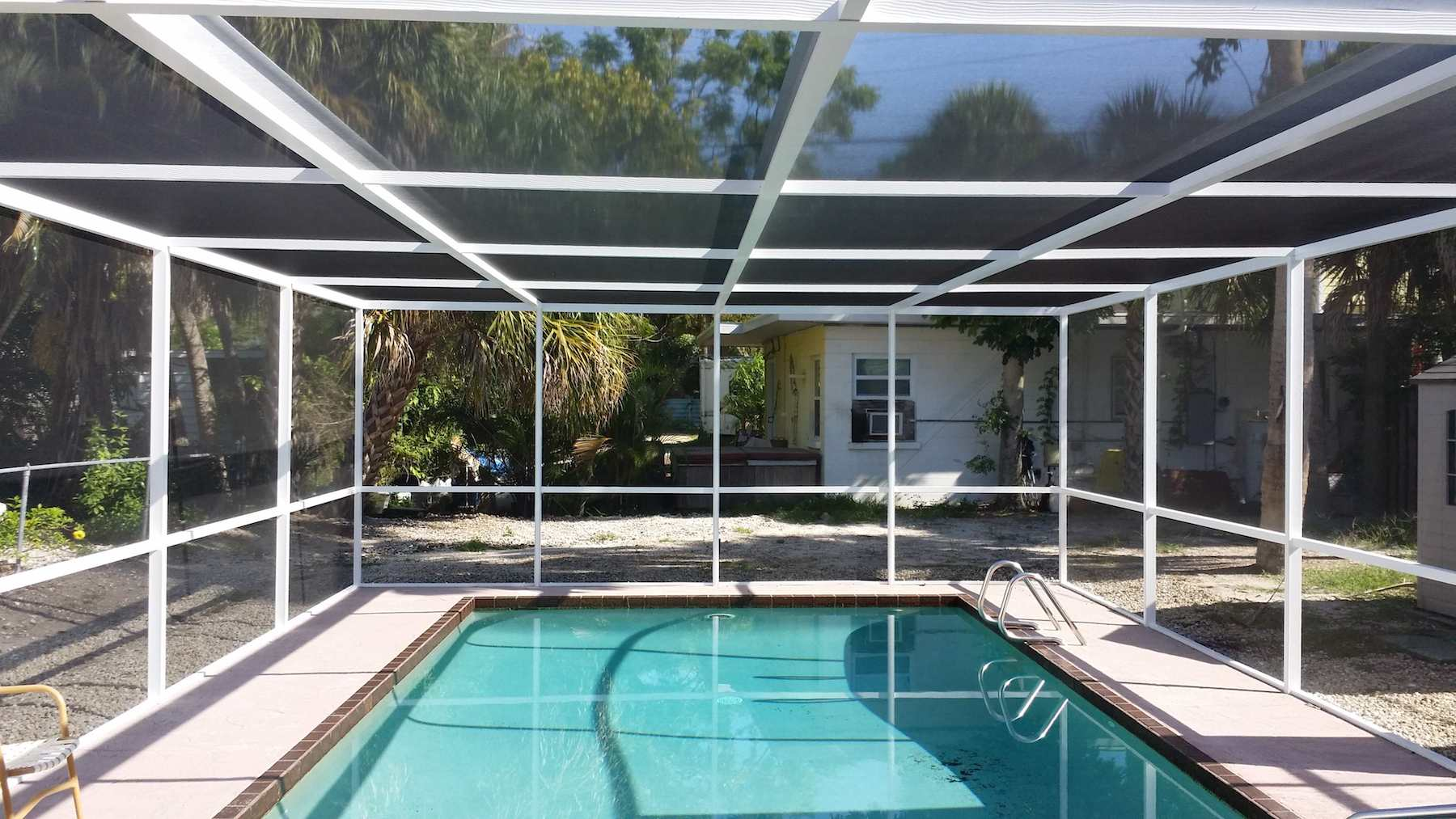 Santee-San Diego County Pool Screen Enclosures & Screen Repair Services